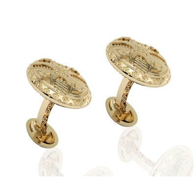Albert Antique Style Gold cufflinks